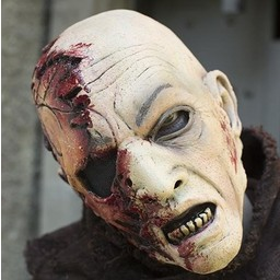Zombie mask with blood