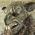 Epic Armoury LARP knaagdier masker, bruin