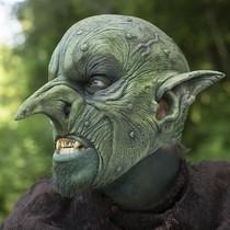 Epic Armoury Goblin máscara verde, Máscara LARP