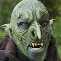 Epic Armoury Aardman Masker, groen, LARP masker
