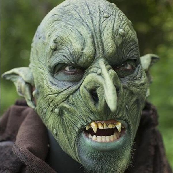 Epic Armoury Maschera Aardman, verde, maschera GRV