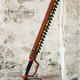 Epic Armoury Chainsaw Svärd, LARP Sword
