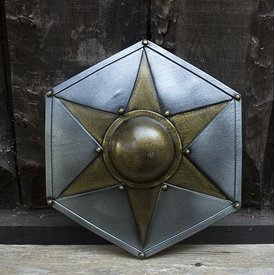 Epic Armoury Estrela Shield, LARP Escudo