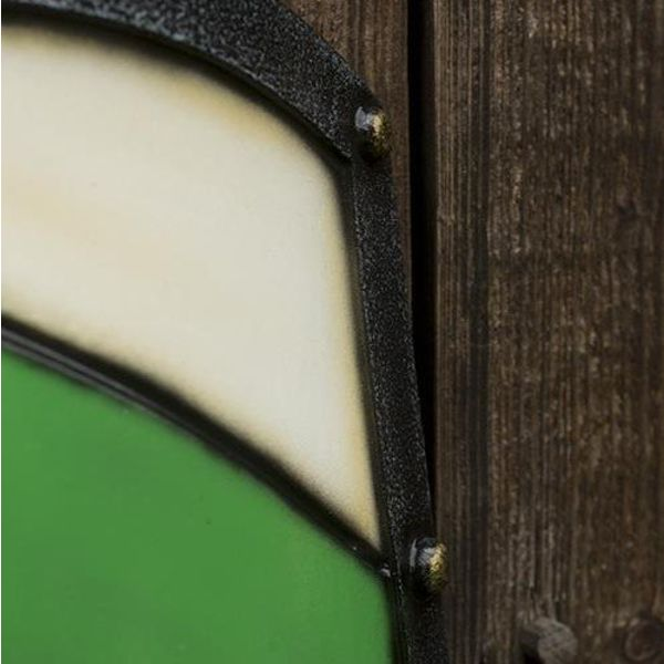 Epic Armoury Cavaliere Scudo, bianco, scudo verde / LARP