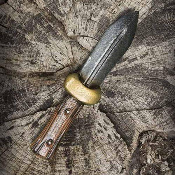 Epic Armoury Kaste Kniv Boot kniv, LARP Våben