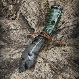 Epic Armoury Cuchillo de lanzar Orco, arma LARP