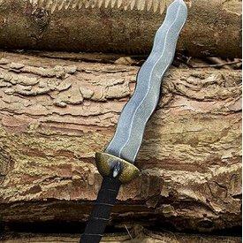 Epic Armoury Serpiente de la daga, arma LARP, espuma