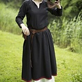 Epic Armoury Basic Kleid, schwarz / dunkelrot