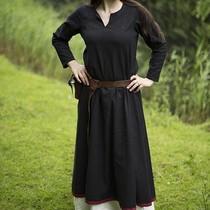 Epic Armoury Basic Dress, black/dark red