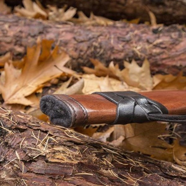 Epic Armoury LARP Sword Skede, medium, venstrehåndet, læder
