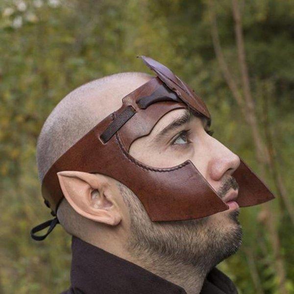 Epic Armoury Elven bandeau LARP, cuir brun