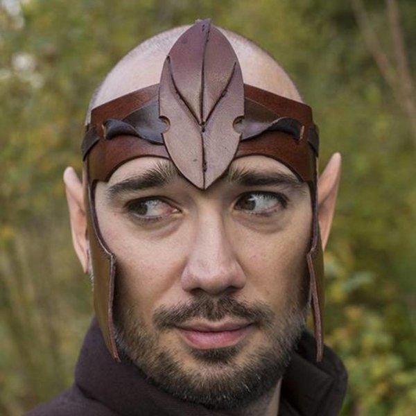 Epic Armoury Elven Head Band, läder, LARP