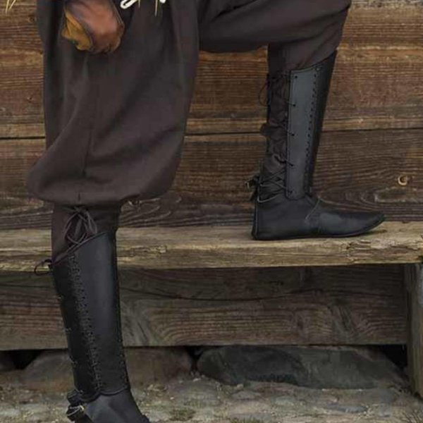 Epic Armoury Greaves Squire, czarny, para