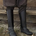 Epic Armoury Greaves Squire, black, Pair