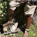 Epic Armoury Fedtegrever Squire, brun, Par