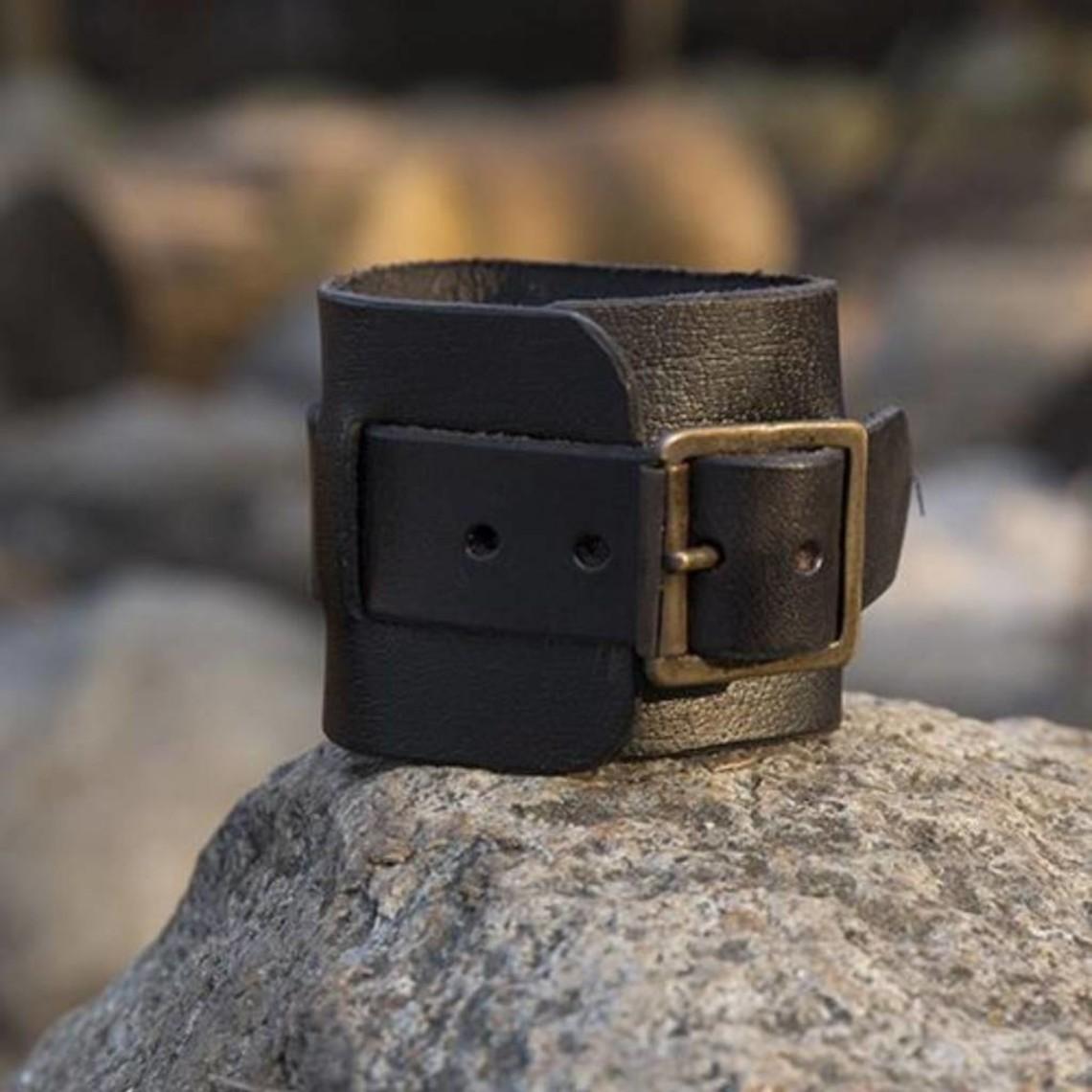Epic Armoury Polsino braccialetto di cuoio