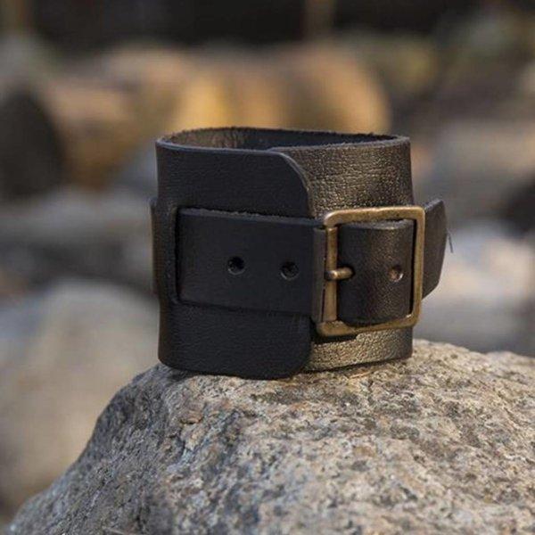 Epic Armoury Læder manchet armbånd