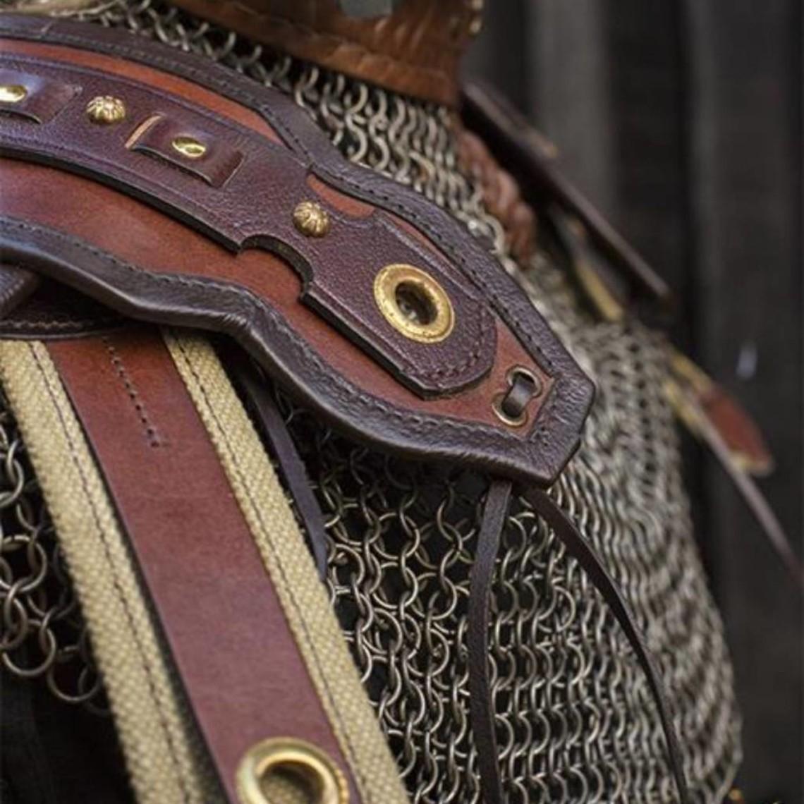 Epic Armoury Armatura romana di spalla in pelle