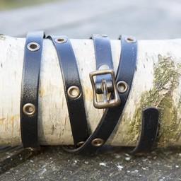 Multistrap Bracelet, leather
