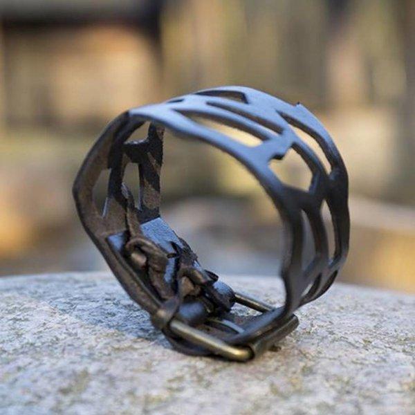 Epic Armoury Filigree Bracelet, Leather