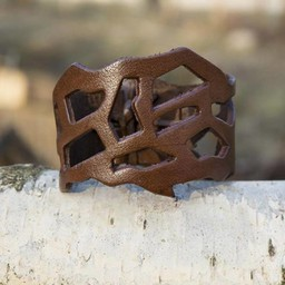 Filigran Armband, Läder