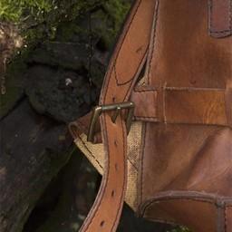 Steampunk backpack, brown
