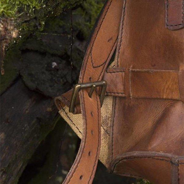 Epic Armoury Steampunk rygsæk, brun