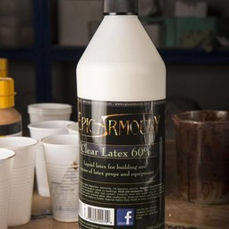 Transparant latex 1000 ml