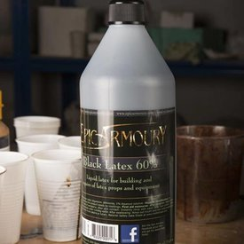 Epic Armoury Svart latex 1000 ml.