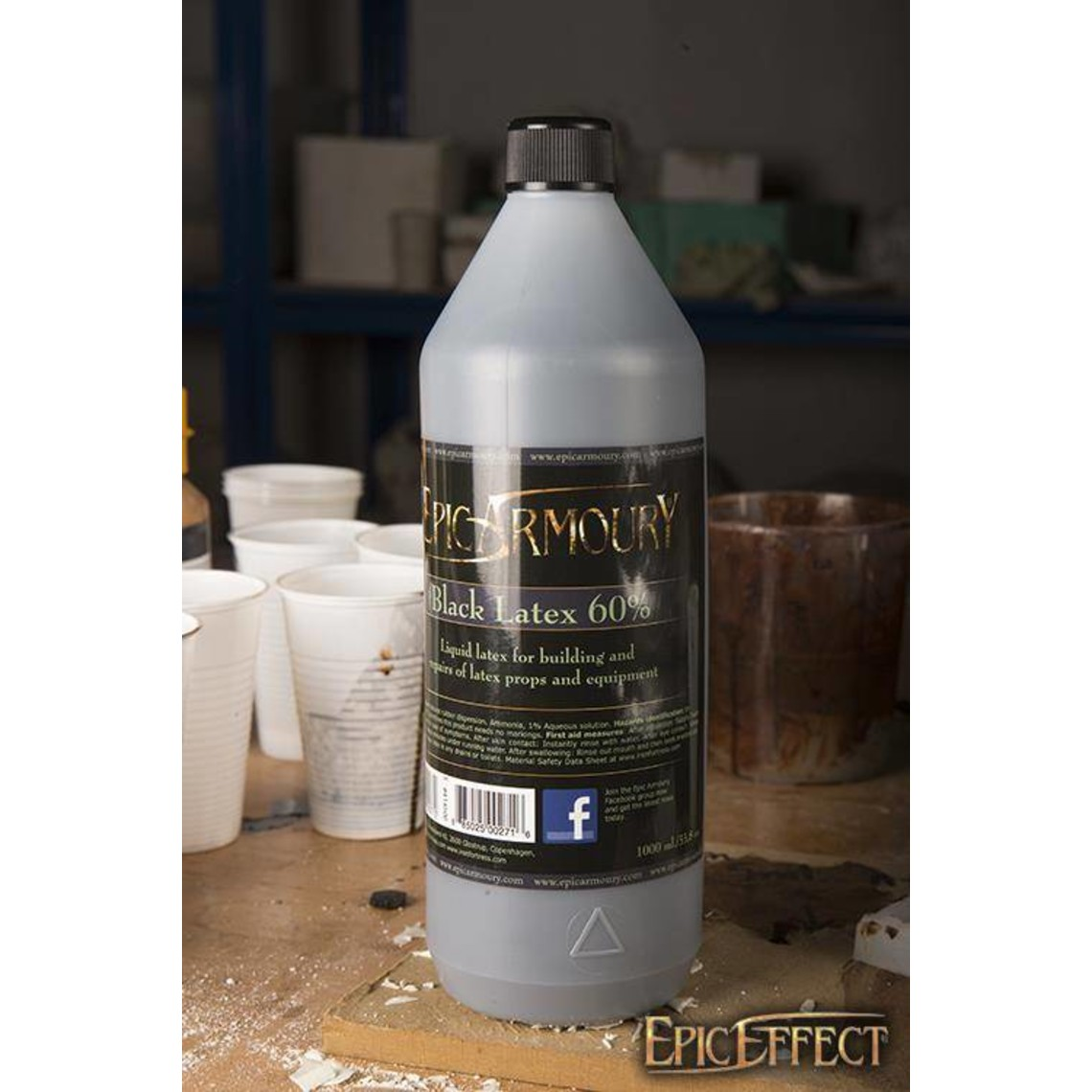 Epic Armoury Latex negro 1000 ml.