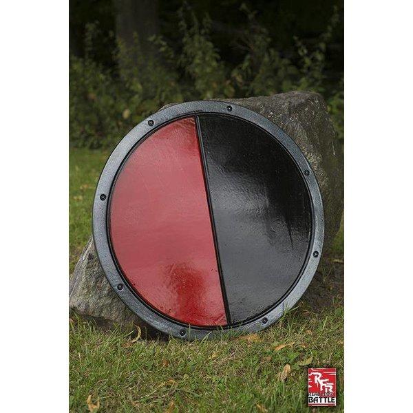 Epic Armoury LARP bouclier rond noir / rouge