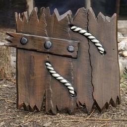 LARP deska drewniana tarcza