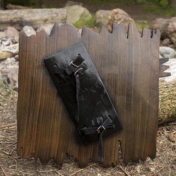 Epic Armoury LARP blindagem da placa de madeira