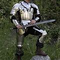 Epic Armoury LARP gothique Armour.