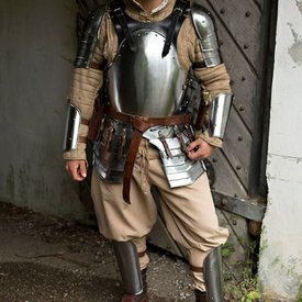 Epic Armoury Merc mørk rustning sæt, sort