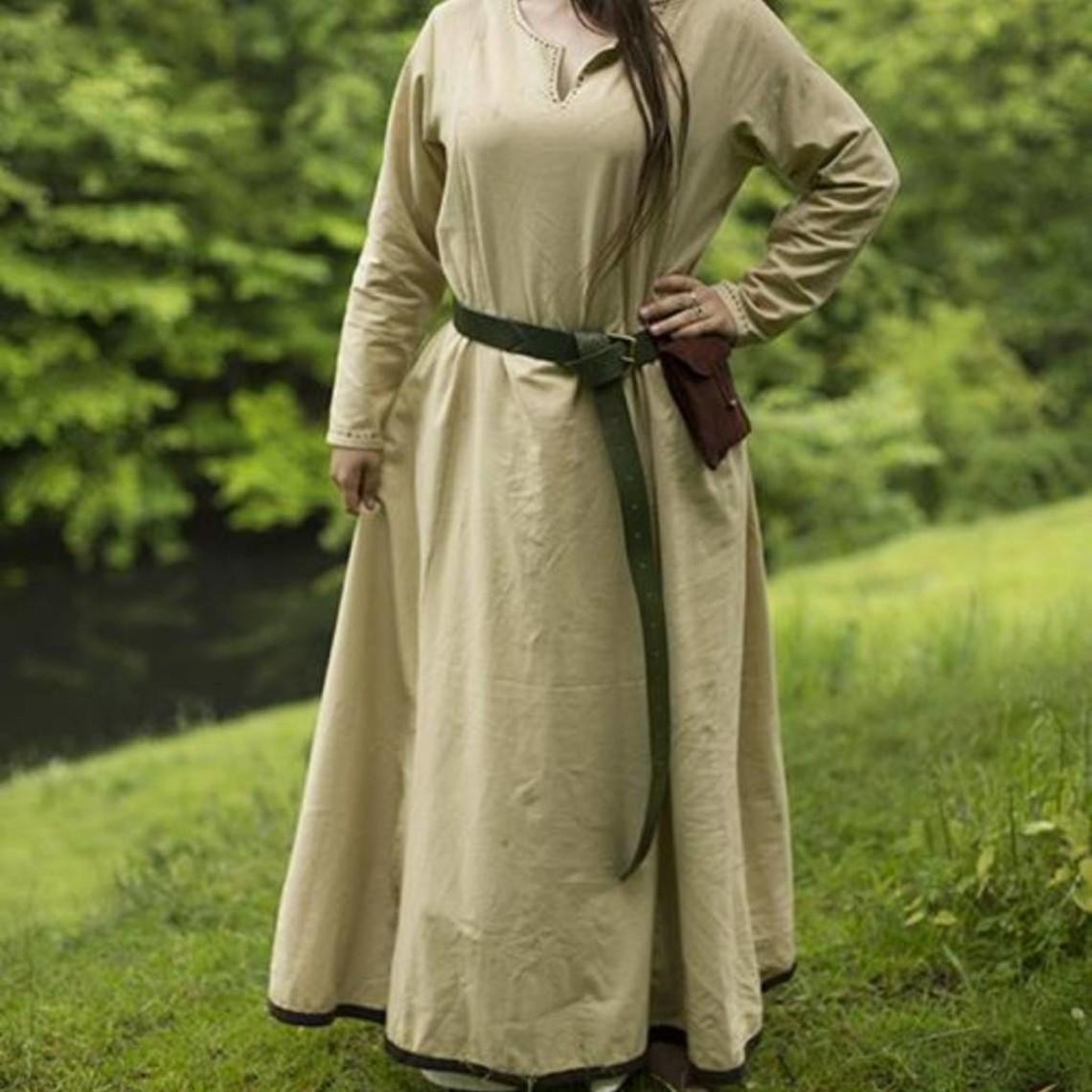 Epic Armoury Podstawowe sukienka, beżowy / brązowy