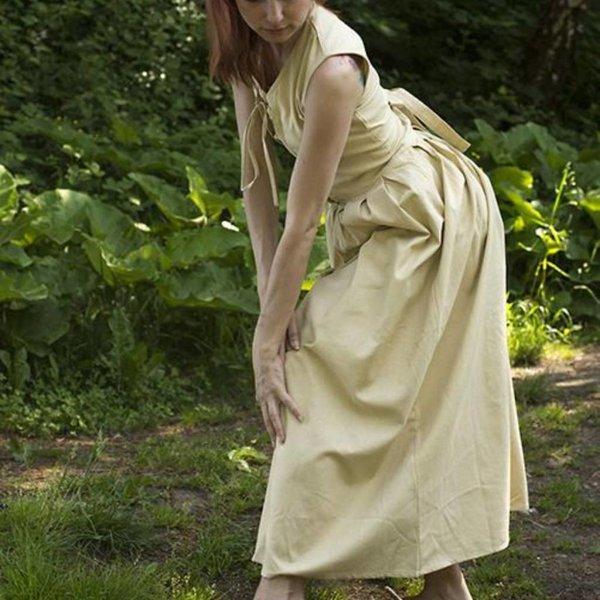 Epic Armoury Mittelalterliches Kleid Elaine, beige