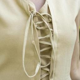 Mittelalterliches Kleid Elaine, beige