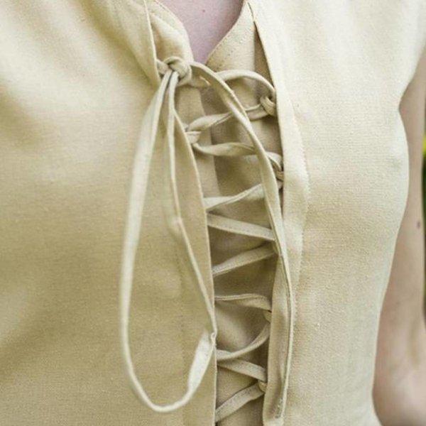 Epic Armoury Middeleeuwse jurk Elaine, beige
