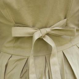 Medieval dress Elaine, beige