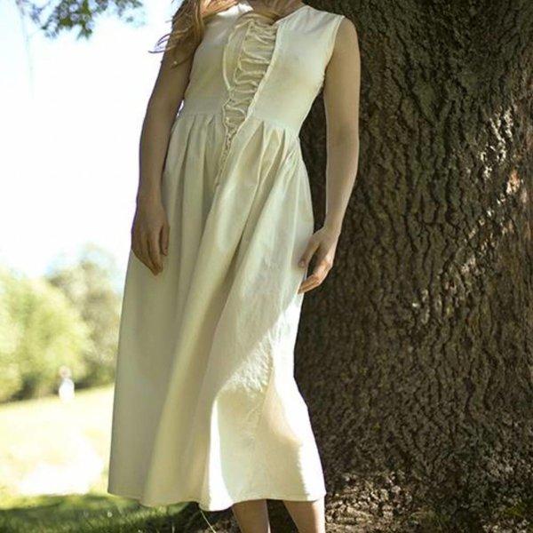 Epic Armoury Średniowieczna sukienka Elaine, biała