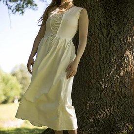 Epic Armoury Middelalderlig kjole Elaine, hvid