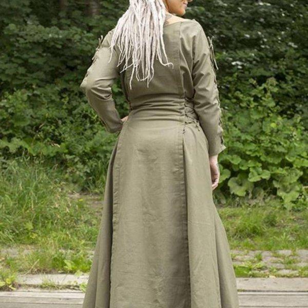 Epic Armoury Sukienka Morgaine, zielony