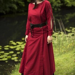 Dress Morgaine, red