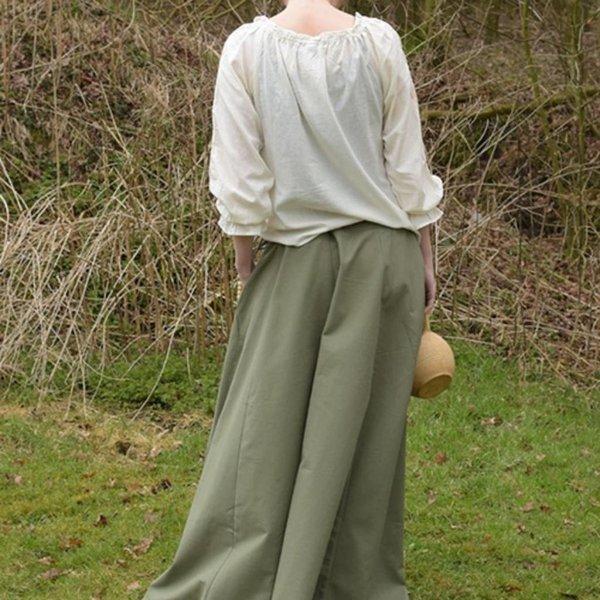 Middeleeuwse rok Melisende, groen
