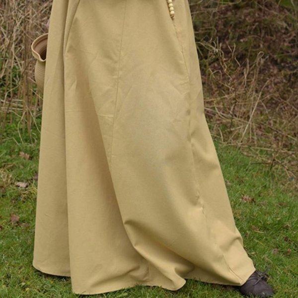 Medieval skirt Melisende, light brown