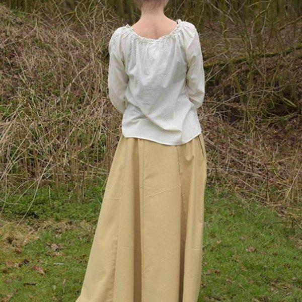 Gonna medievale Melisende, marrone chiaro