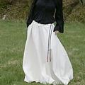 Falda medieval de melisende, natural.