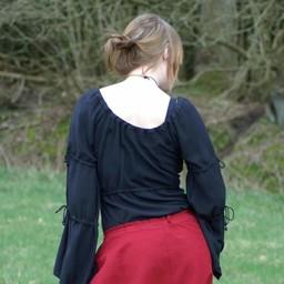 Middeleeuwse rok Melisende, rood