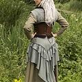 Epic Armoury Gorset skórzany Margot, brązowy